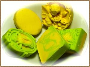 grünes *Seifenglück*